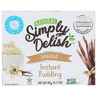 Simply Delish Mix Pddng Pie Vanla Nsgr, Case of 6 X 1.7 Oz