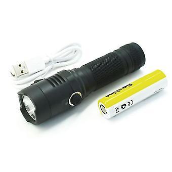 Soshine TC18 1100lm Taskulamppu 4 tilat USB Ladattava Työlamppu Metsästys Camping Emergency Lantern