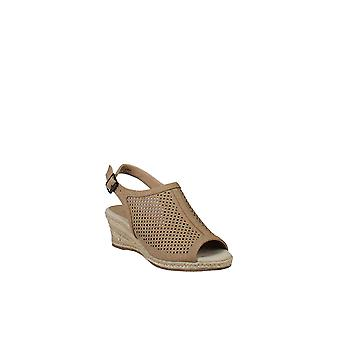 Easy Street | Stacy Caged Wedge Sandal