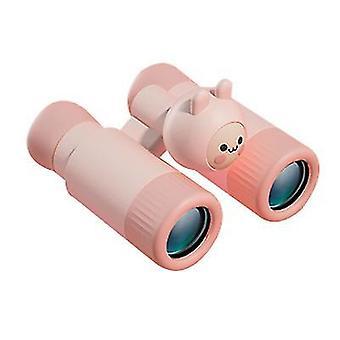 Lasten jakamisteleskooppi Mini Ulkona suurennuslasilelevä (vaaleanpunainen)