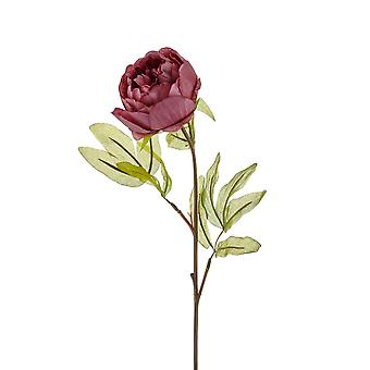 CCK0243 Red Stem Artificial Flower