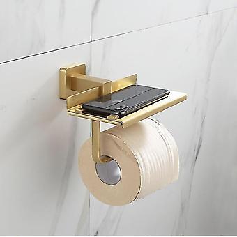 Mosiężna łazienka akcesoria ręcznik rack, uchwyt uchwyt na ręczniki Hook Szczotkowane Gold Bath Hardware Row Hook