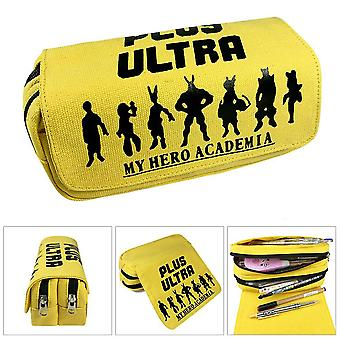 My Hero Academia ¡¤ Children's double-layer pencil case with large capacity(Color-3)