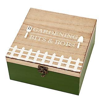 20cm puinen säilytyslaatikko puutarhanhoitoon   Puutarhurien lahja