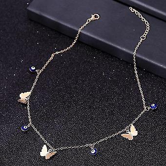 Malé zvíře butterfly hvězdy řetěz náhrdelníky klíční kost šperky doplňky (Styl 6)