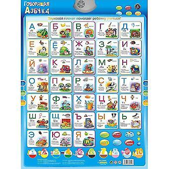 Electronic Russian Language Learning Machine - Abc Alphabet Sound Chart