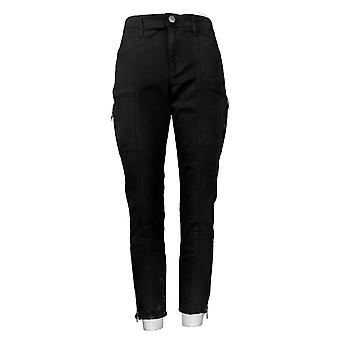Skinnygirl Women's Jeans Twill With Seams Black 690134