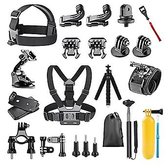 23-In-1for gopro accessories mount set for go pro hero 9 8 7 6 yi 4k mijia insta360 action camera gp39