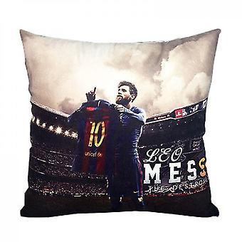 Almohadas de respaldo messi basse carrera tema de fútbol periférico souvenir cojín barra decoración almohada