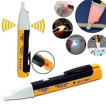 Detektor elektřiny Testovací tužka Digitální zkušební tužka Elektrický detektor napětí Detektor napětí (žlutá)