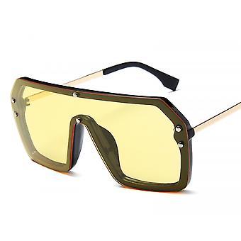 Übergroße Shield Sonnenbrille