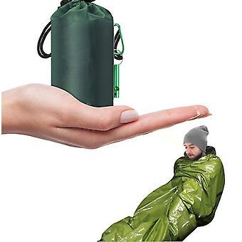 Ensemble de couvertures d'urgence thermiques de sécurité de sécurité de survie extérieure