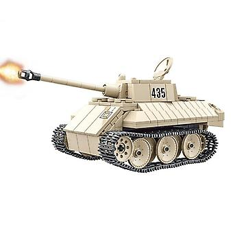 Tanks WWII Vehicle Soldiers Weapon Dolls Building Blocks Building Blocks Classic Model Toys