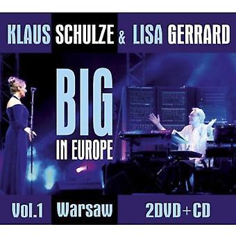 Klaus Schulze & Lisa Gerrard - Klaus Schulze & Lisa Gerrard: Vol. 1-Big dans importation USA Europe [CD]