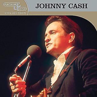 Johnny Cash - Platinum & Gold Collection [CD] USA import