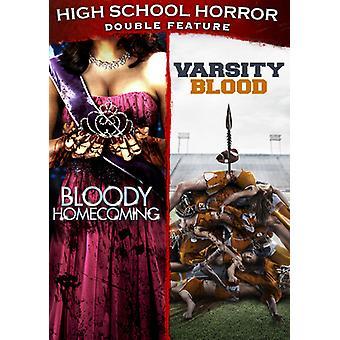 High School Horror dubbla funktioner [DVD] USA import
