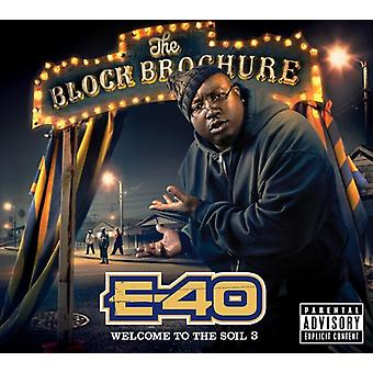 E-40 - Block Brochure: Welcome to the Soil 3 [CD] USA import