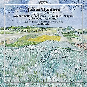J. Rontgen - Julius R Ntgen: Symphonietta Humoristica [CD] USA import