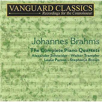 J. Brahms - Brahms: The Complete Piano Quartets [CD] USA import