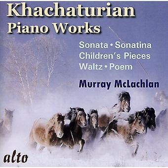 A. Khachaturian - Khachaturian: Piano Works [CD] USA import