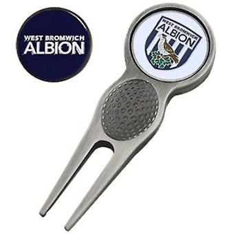 West Bromwich Albion Divot Tool & Marker