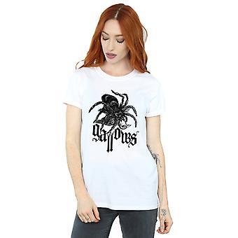 Gallows Women's Black Spider Boyfriend Fit T-Shirt