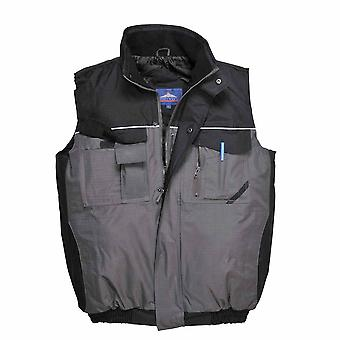 Portwest - RS Two-Tone Uniform Workwear Padded Durable Waterproof Bodywarmer