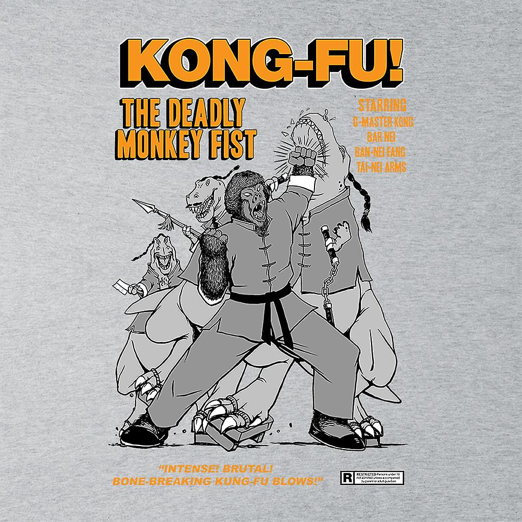Kong Fu el cómic de puño de mono mortal libro Varsity Jacket infantil
