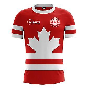 2020-2021 Канада Главная Концепция Футбол Рубашка