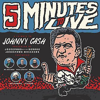 Joecephus & the George Jonestown Massacre - Five Minutes to Live: Tribute to Johnny Cash [Vinyl] USA import