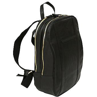 Genuine Leather Laptop Business Backpack Bag Case Rucksack Satchel