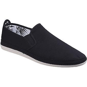 Seidig Mens Orla Slip-On Canvas Casual Sommer Schuhe Pumps Schuhe