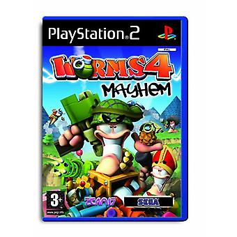 Worms 4 Mayhem (PS2) - New Factory Sealed