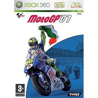 Moto GP 07 (Xbox 360) - als nieuw