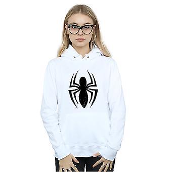 Marvel kobiet Spider-Man Ultimate Spider Logo Bluza z kapturem