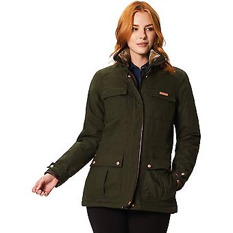 Regata das mulheres/senhoras jaqueta casaco impermeável respirável de Laureen poli