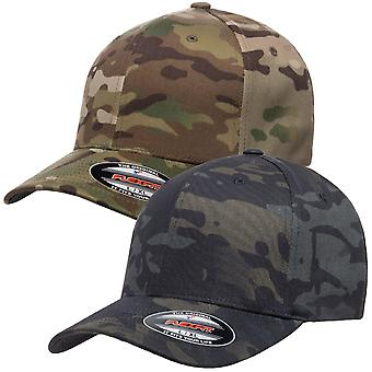 Flexfit Stretchable Multicam Camouflage Pattern Cap camo