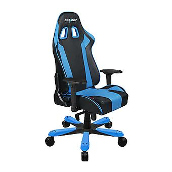 DX Racer DXRacer OH/KS06/NB High-Back Chairs Office Chair Carbon Look Vinyl+PU Desk Chair(Black/Blue)