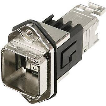 RJ45 laippa asettaa versio 14 RJ45 liitin, mount nastojen määrä: 8P8C J80020A0011 Metal Telegärtner J80020A0011 1 PCs()