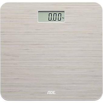 ADE BE 1505 Chloe Digital bathroom scales Weight range=150 kg Bamboo