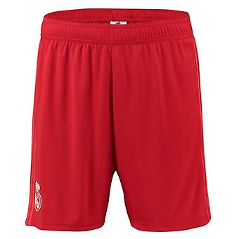 2018-2019 real Madrid Adidas tredje Shorts (röd)