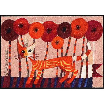 Rosina Wachtmeister felpudo Carotino salón León de alfombras lavables