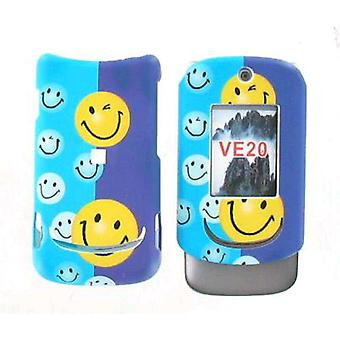 Offwire Snap On Case for Motorola VE20 - Smiley Face