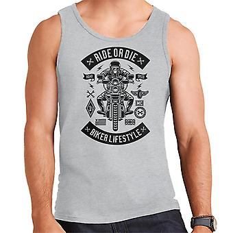 Ride Or Die Biker Lifestyle Men's Vest