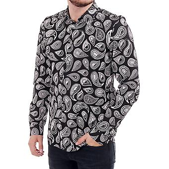 PS Paul Smith Paisley Imprimer Ls Tailored Fit Shirt