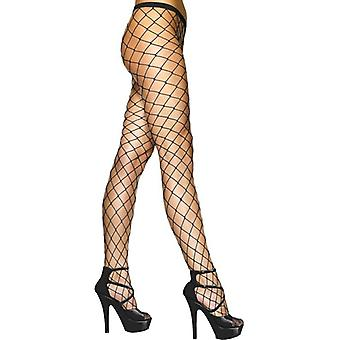 Diamond Net panty's, One Size