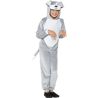 Dog Costume, Children's Animal Fancy Dress, Large Age 10-12