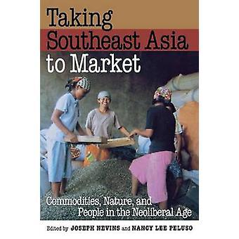 Nemen van Zuidoost-Azië op de markt - grondstoffen - natuur - en mensen in