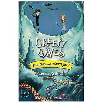 Läskiga grottor av Marcus Sedgwick - Pete Williamson - 9781444005288 boka