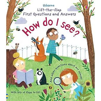 Lift-the-Flap First Questions & Answers How Do I See? by Katie Daynes